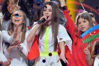 Победительница «Детского Евровидения-2018», представительница Польши Роксана Венгель, на церемонии награждения международного детского конкурса песни «Евровидение-2018» в Минске.