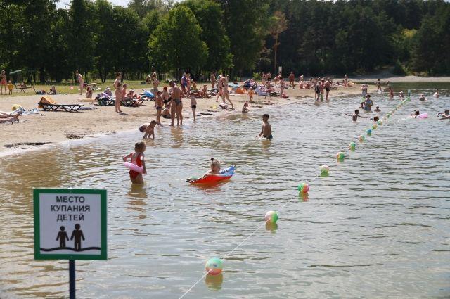 Всего в этом году запланировали открыть 53 места отдыха у воды с запретом купания и шесть пляжей.