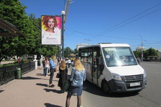 Жители областного центра уже давно просят привести в порядок общественный транспорт в городе.
