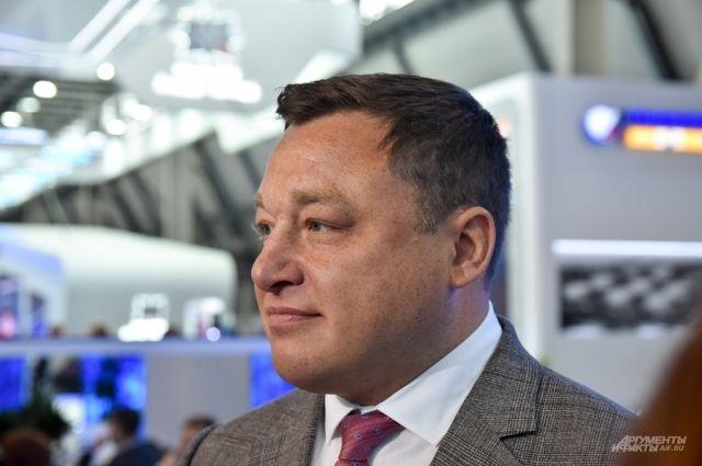 Генеральный директор НПО Центротех Илья Кавелашвили
