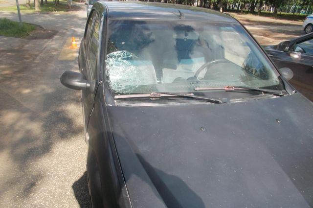 В Ижевске 11-летнюю девочку сбила машина на пешеходном переходе