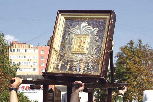 Святой образ пронесут крестным ходом через всю область.