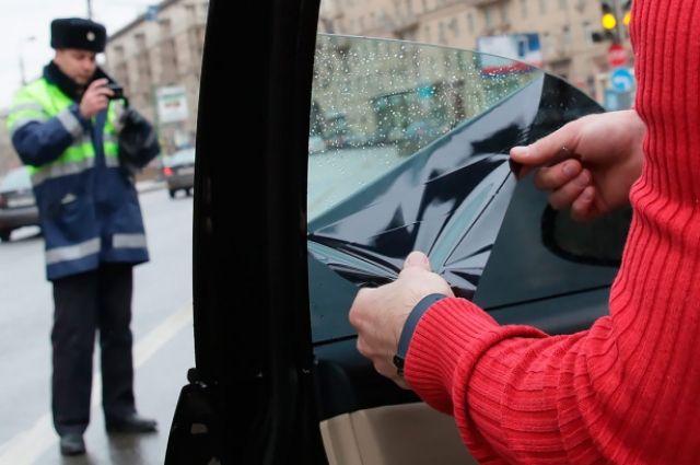 Сейчас штраф за тонированные передние стекла составляет 500 рублей.