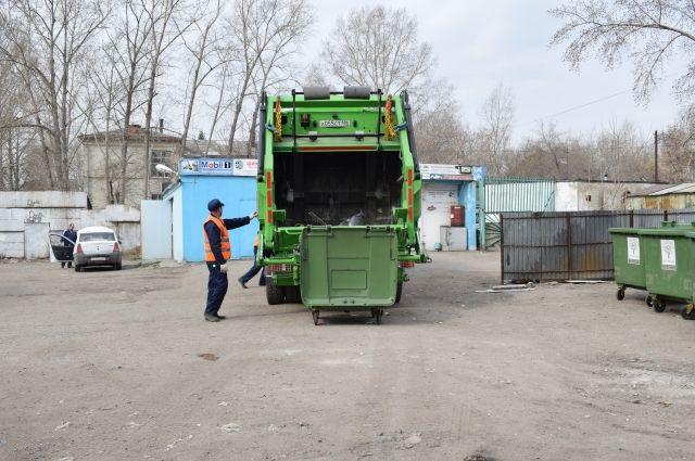Квитанции за мусор с перерасчётом за апрель омичи получат в августе