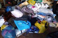 За неделю собрали около трех тонн вещей