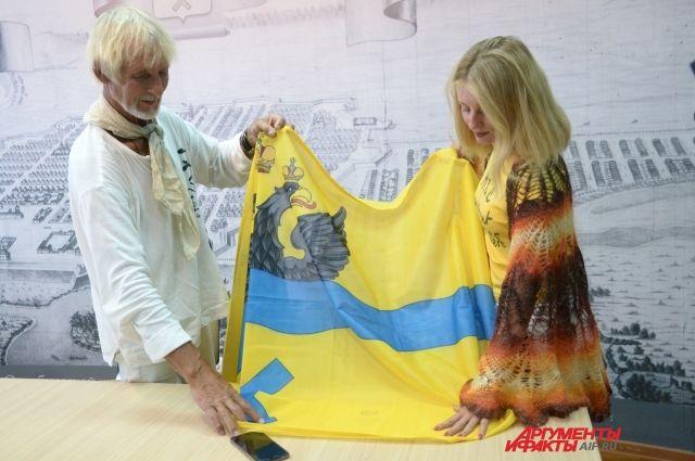 Оренбург после экспедиции посетил воздухоплаватель Валентин Ефремов