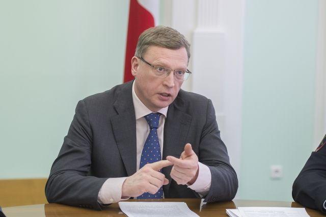 Омский губернатор Александр Бурков попал в число лидеров медиарейтинга