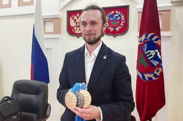 Сергей Каменский вернулся с медалями II Европейских игр