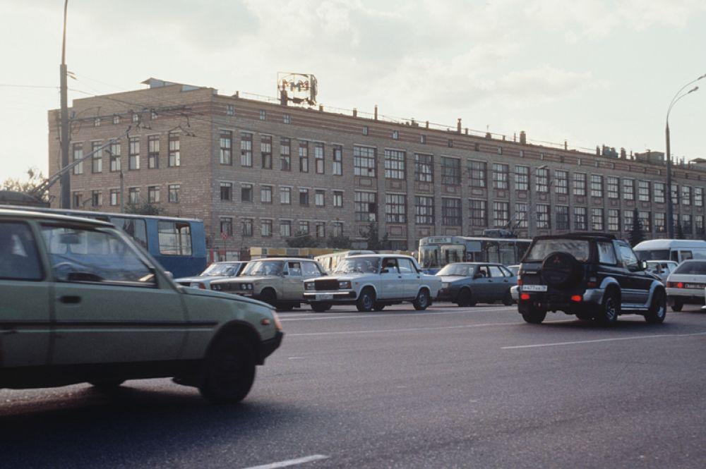 Здание центральный офиса компании «МММ» на Варшавском шоссе в Москве.