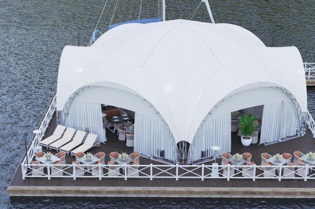 Заведение должно пройти техобследование  по классификации судна и получения регистровых документов, которые подтвердят, что ресторан может работать.