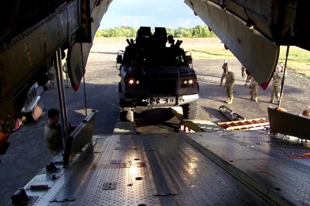 Уникальная военная бронемашина Козак-2М1 успешно прошла госиспытания
