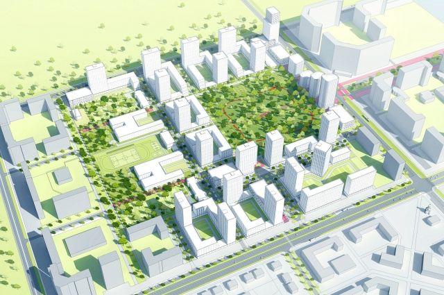 Концепт нового ЖК «ART. Город-Парк»
