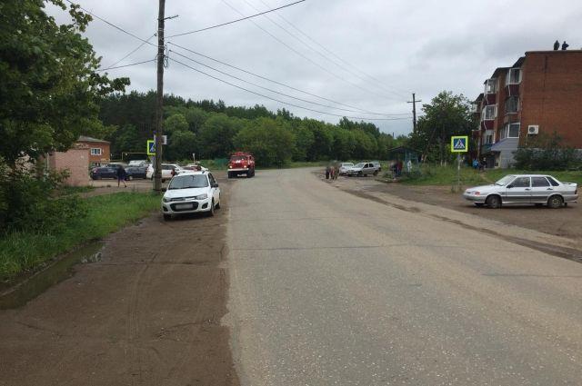 В Сарапуле водитель сбил 12-летнюю девочку на пешеходном переходе