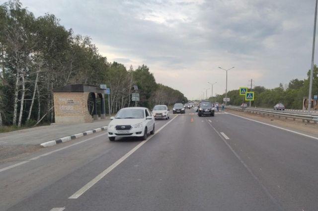 Под Оренбургом водитель Chevrolet насмерть сбил 81-летнего пешехода