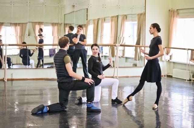 На репетиции балета «Эсмеральда».