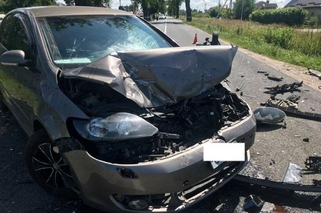 В Зеленоградском районе водитель потерял сознание и попал в ДТП