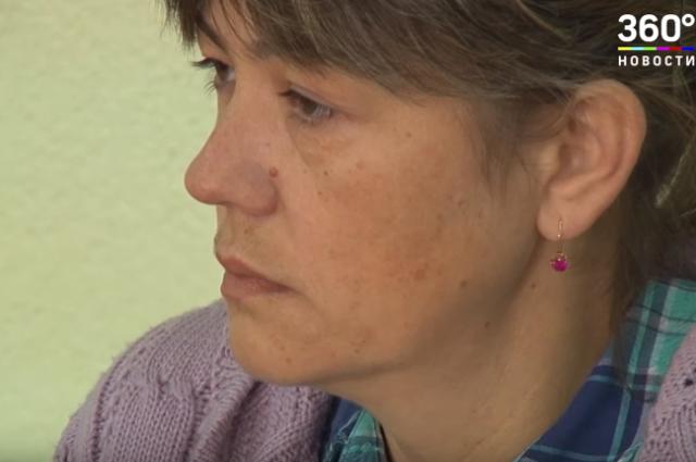 Бывшая участковая Наталья Башкатова на заседании суда.