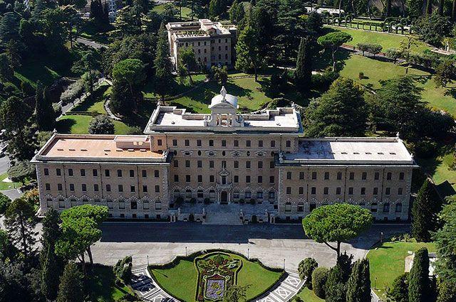 Дворец правительства Ватикана.