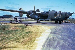 B-24 Liberator из 490-й группы.