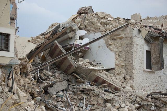 Вместо разрушенного здания должен появиться симпатичный домик.