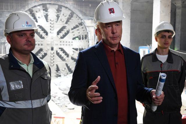 Собянин: строительство Некрасовской линии метро вышло на финишную прямую