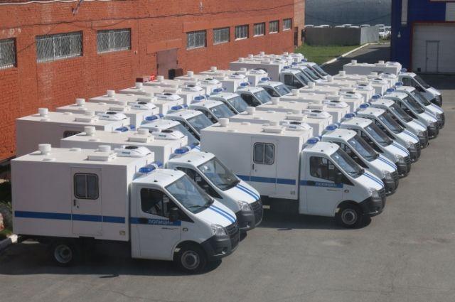 Тюменская полиция пополнила автопарк 20 новыми служебными машинами