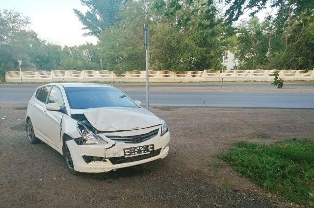 В Оренбурге в ДТП на Шарлыкском шоссе пострадала 3-месячная девочка