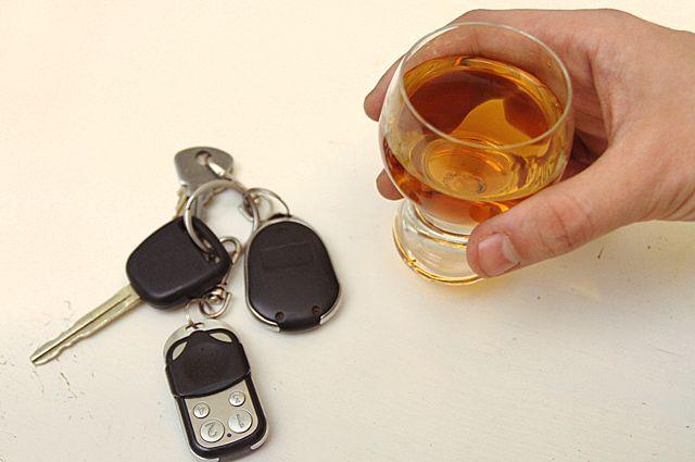 В Бугуруслане пьяный водитель попал в ДТП