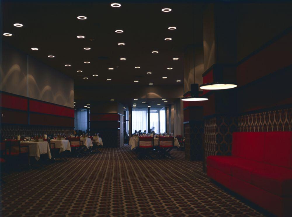 Ресторан «Лунный» в гостинице «Космос», 1980 год.
