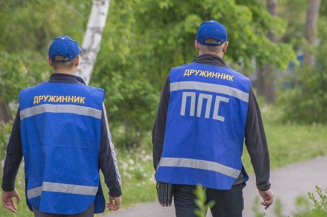В омском «Первокирпичном» дружинники борются с рекламой наркотиков