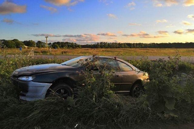 В Багратионовске по вине 18-летнего водителя пострадали несовершеннолетние пассажирки