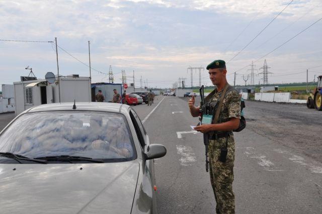В Украине изменили порядок пересечения линии разграничения на Донбассе