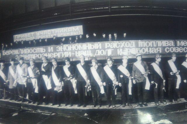 В 1984 г. кузнецкие металлурги выпустили последние рельсы для БАМа.