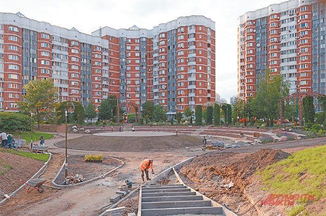 По адресу: Новокуркинское шоссе, д. 25–35, в конце месяца откроют парк.