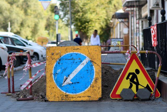 В столице края введены ограничения для проезда.