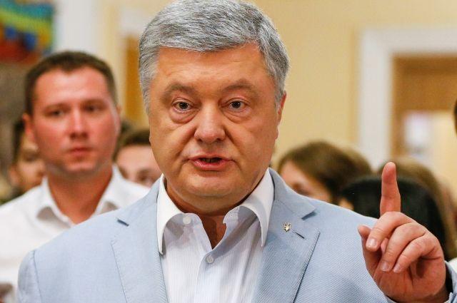 Порошенко призвал выбрать парламент, способный «остановить реванш РФ»