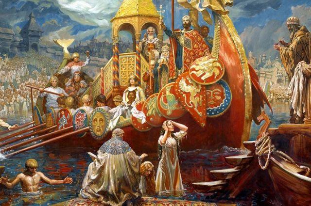 «Огнем и мечом»: заблуждения и мифы о крещении Киевской Руси