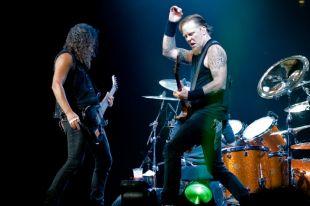 Группа Metallica выступит в «Лужниках»