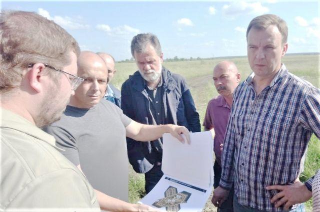 Сергей Сокол на совещании в Тулуне.