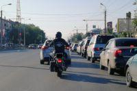 Полиция разыскивает зелёный мотоцикл и его владельца.