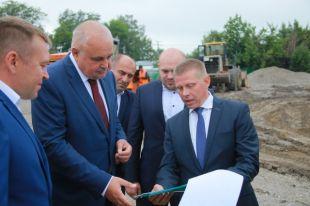 Глава региона посетил с рабочим визитом Белово.