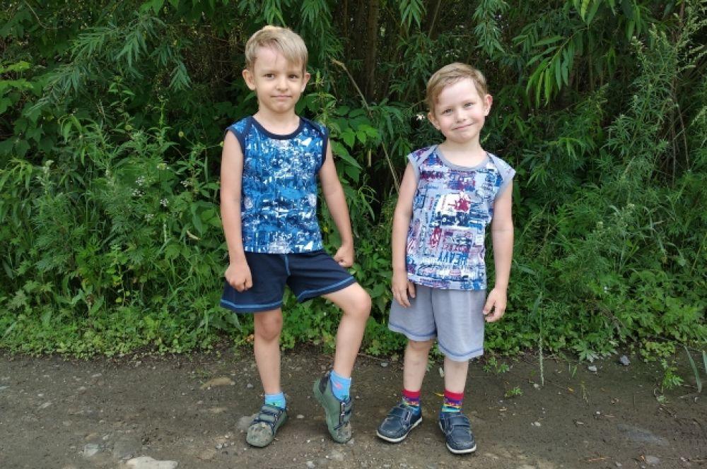 Данил и Алексей