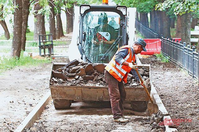 Начинается ремонт дорог на улицах Алябьева и Карамзина в облцентре