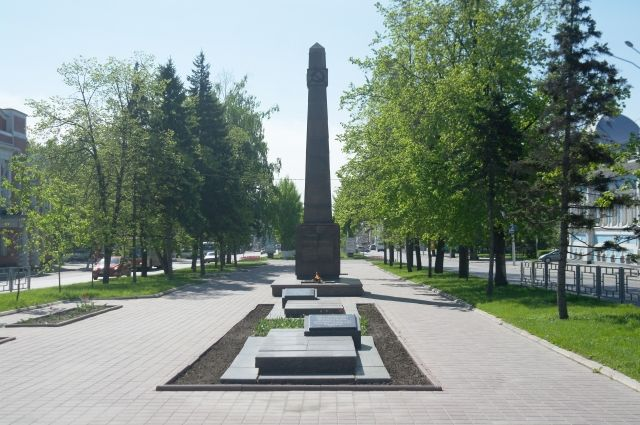 Мемориал «От борющихся павшим борцам за социализм».