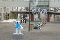 Забор вокруг территории СФУ появился в преддверии Зимних студенческих игр.