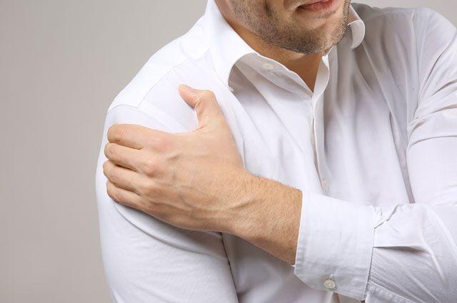 Как снять боль в плече?