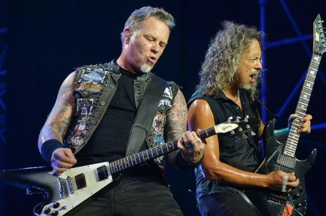 Легендарная группы дала концерт в Москве.