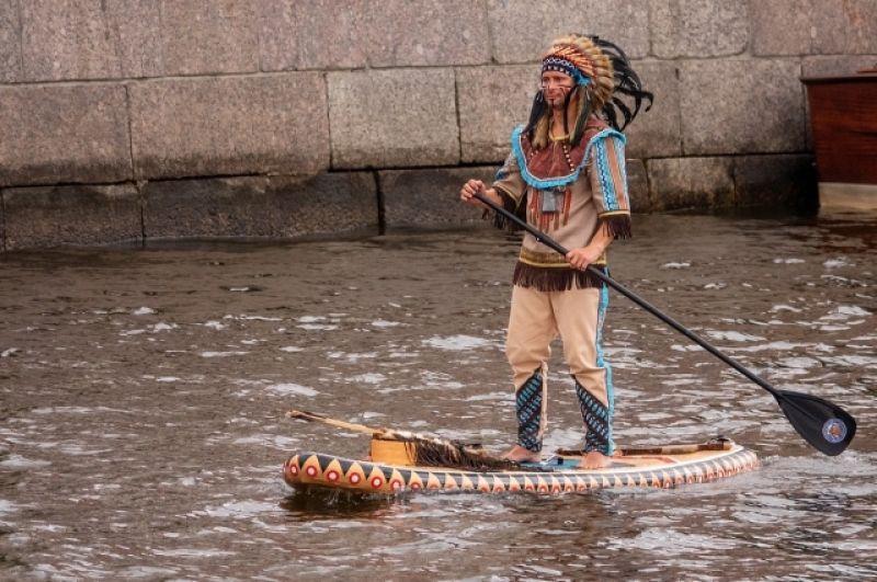 Питерские индейцы - ребята суровые.