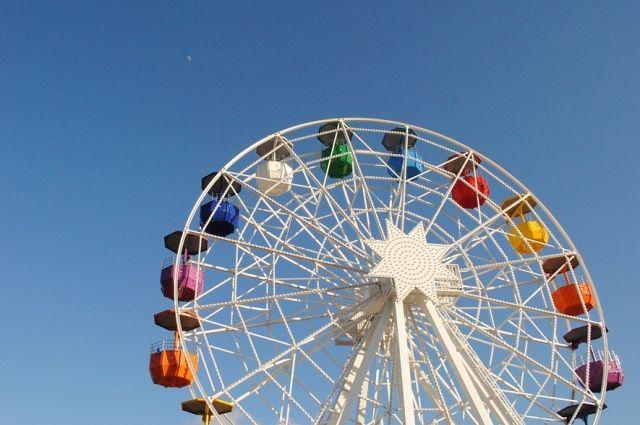 Четвертое колесо обозрения появится в Красноярске.