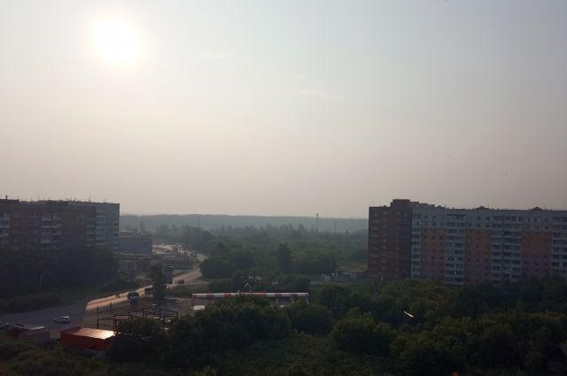 В Омске будет пахнуть гарью ещё три дня